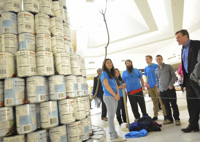 Canstruction Competition to Benefit Fredericksburg Regional Food Bank