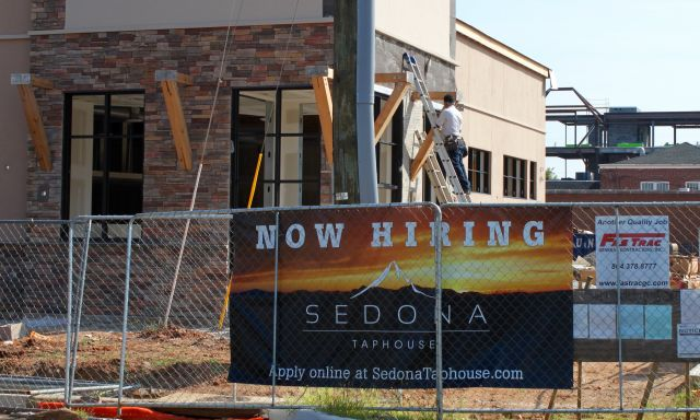 New Downtown Restaurant Nearing Completion, Now Hiring