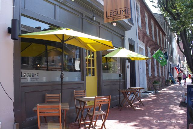 Legume Kitchen and Bar Opens in Downtown Fredericksburg
