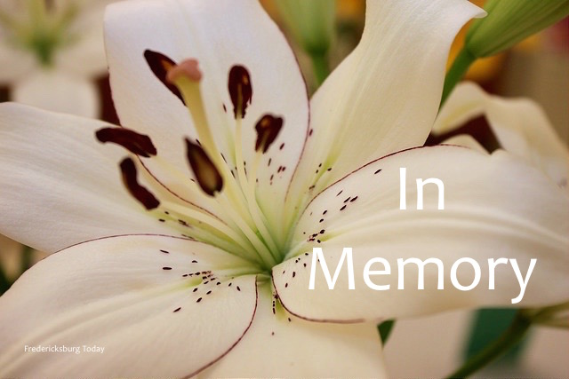 Fredericksburg Area Obituaries December 10 – 16