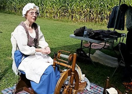 """Taming the Wilderness"" Living History Event at Ellwood Manor"