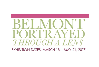 Belmont Portrayed Photography Exhibit Opens March 17