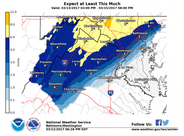 Snow Likely Monday Night Through Tuesday