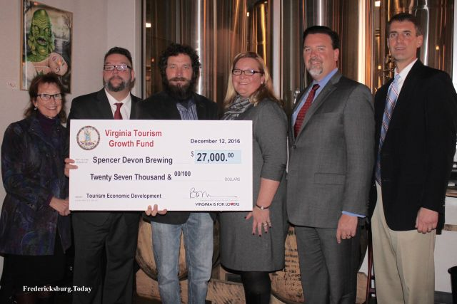 Spencer Devon Brewing Receives Virginia Tourism Grant for Outdoor Seating Deck