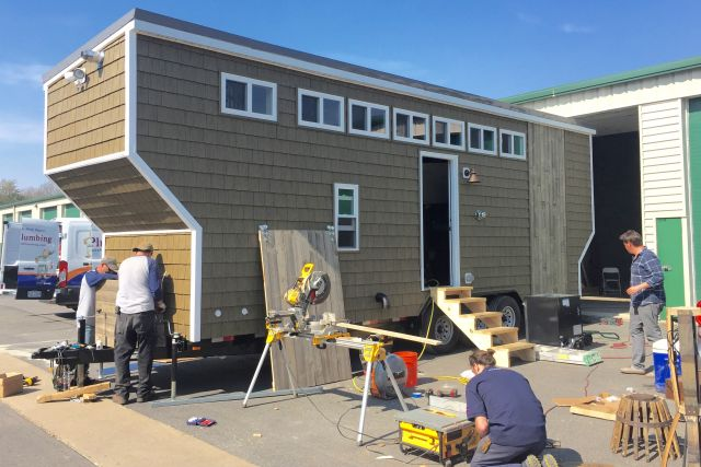 local builder featured on tiny house nation and tiny house big living - Tiny House Builder