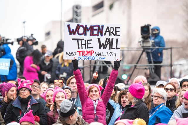 Local Photographer Covers the Women's March on Washington