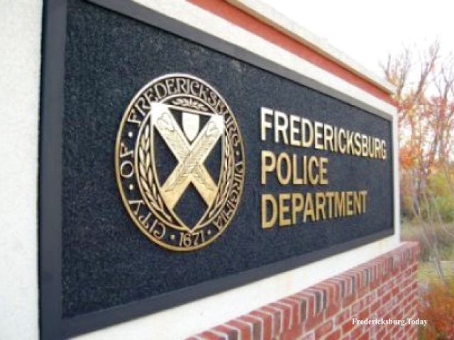 Broken church window–Fredericksburg Police Report