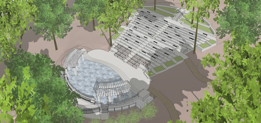 UMW hits fundraising milepost for Amphitheatre project