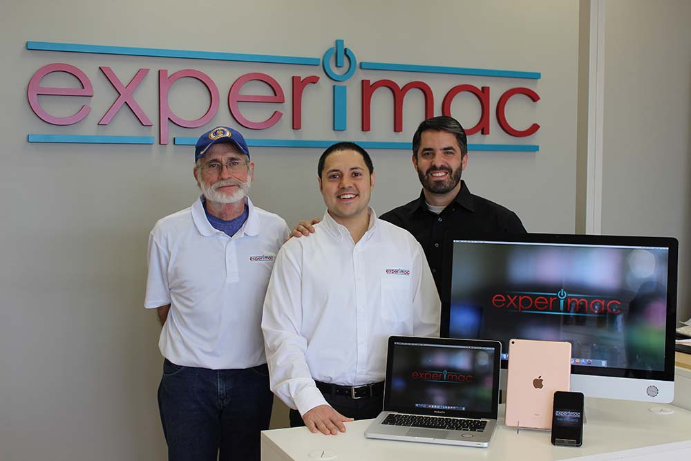 Experimac offers local support for Apple products