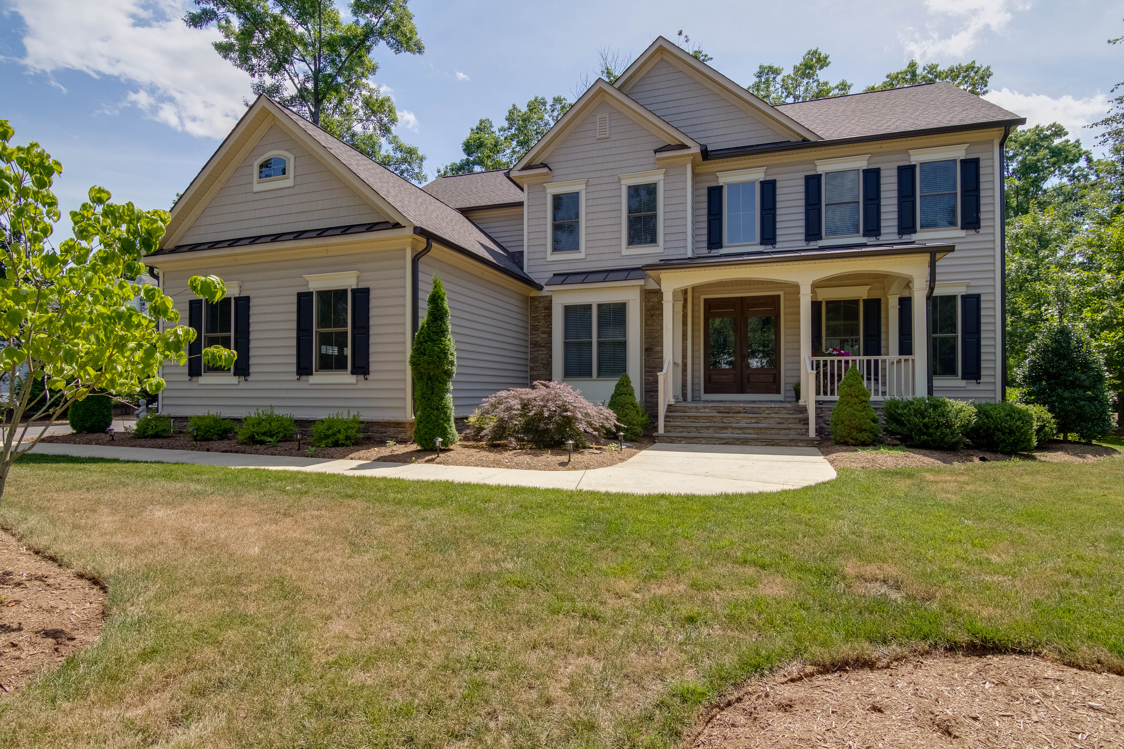 Home of the week custom built colonial fredericksburg today for Custom colonial homes