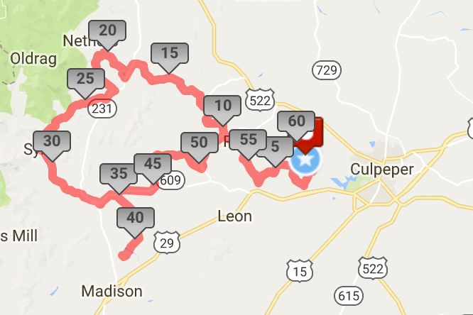 Culpeper Gran Fondo and other events