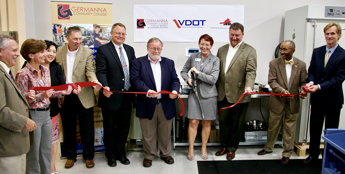 Germanna opens VA Education Center for Asphalt Technology