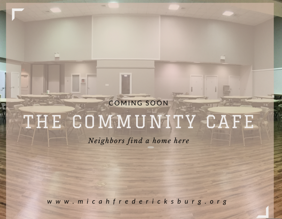 Micah to launch community cafe
