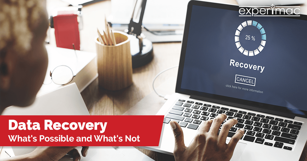 Data recovery – what's possible and what's not