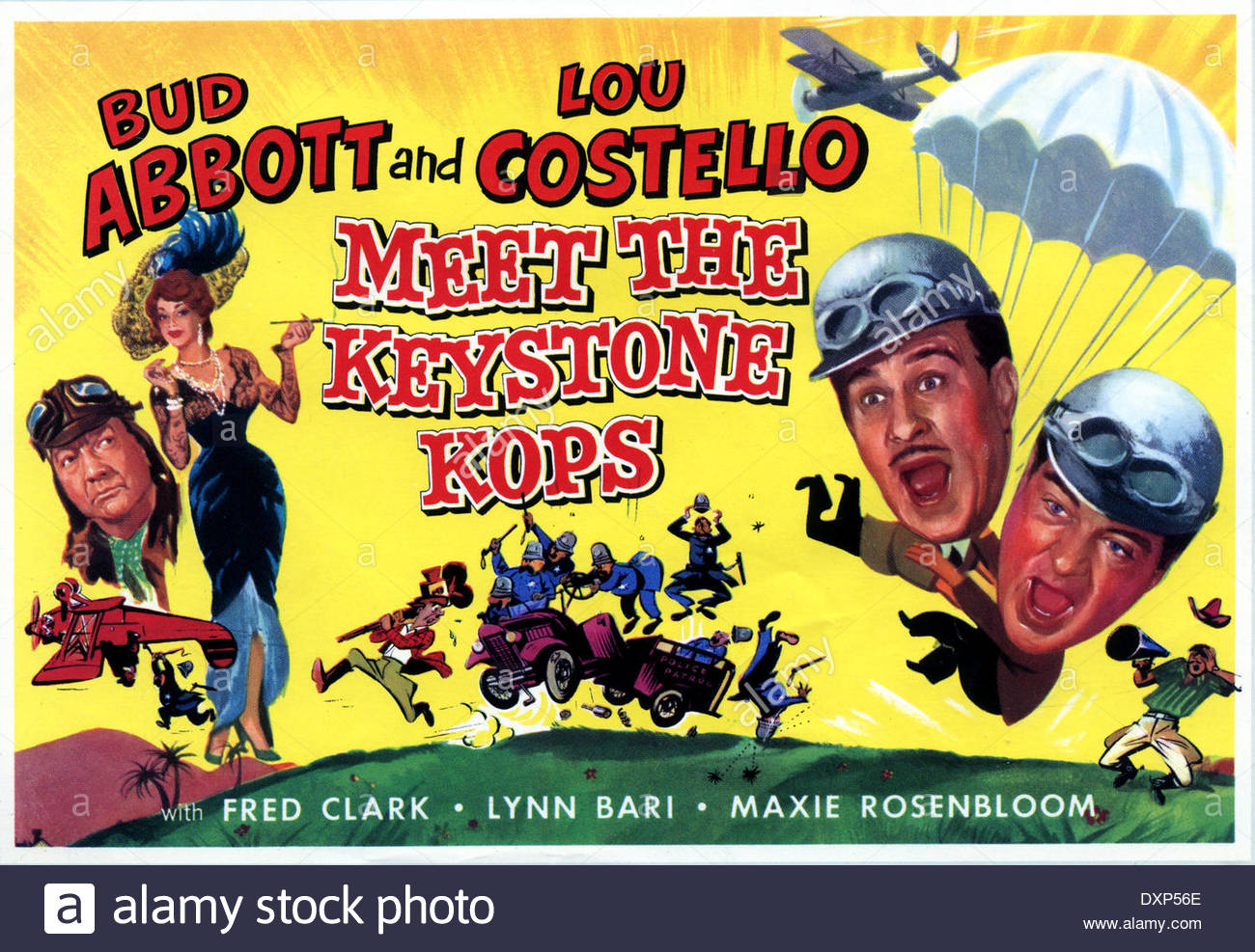 Abbott & Costello Meet the Keystone Kops in Culpeper