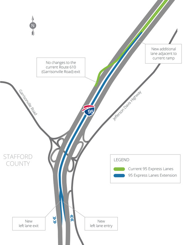 I-95 Express Lane extension set to open early