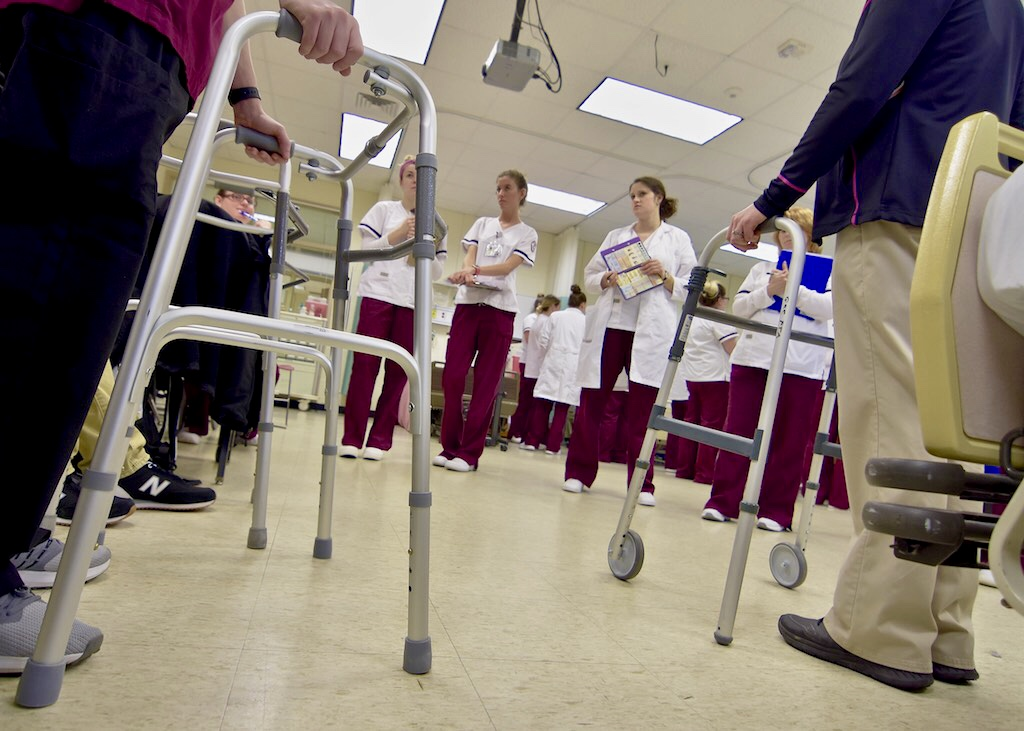 Photo feature: Nursing instruction at Germanna