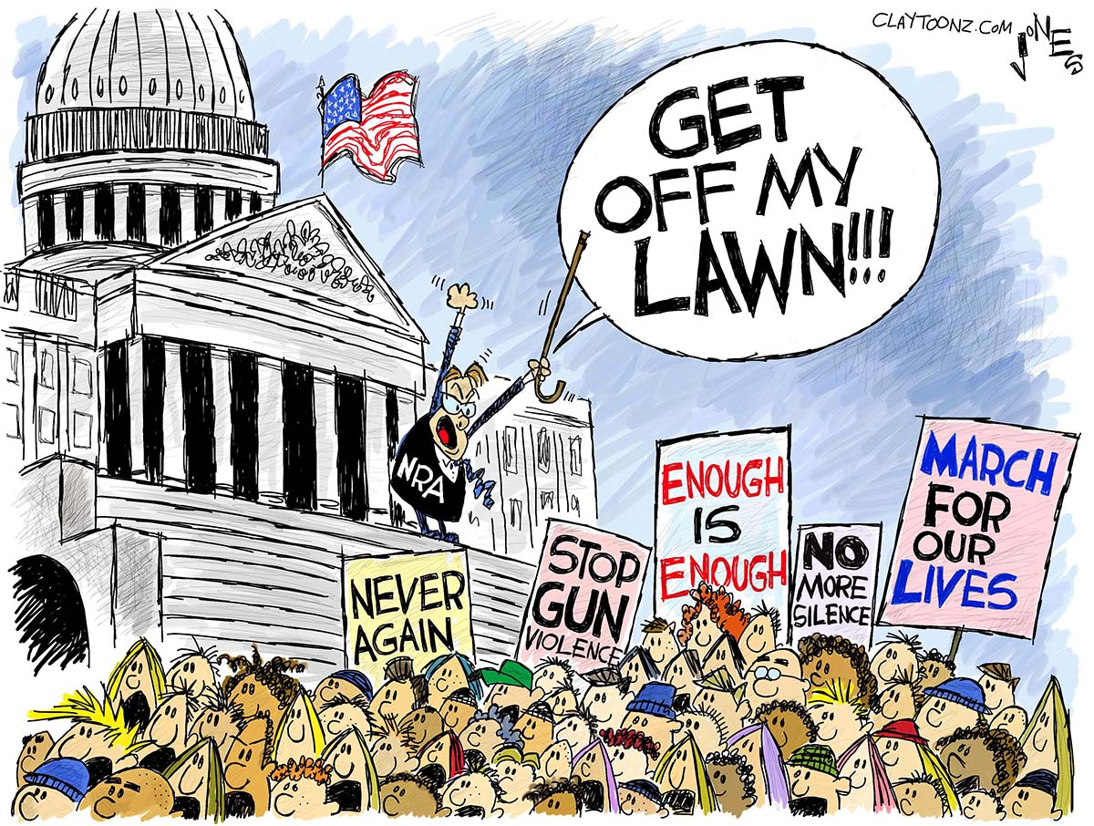 Clay Jones: March For Our Lives