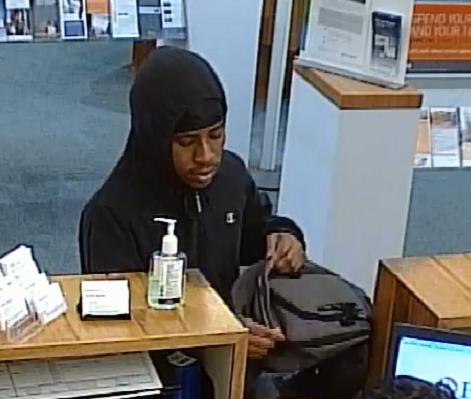 Police seek ID of man in bank robbery