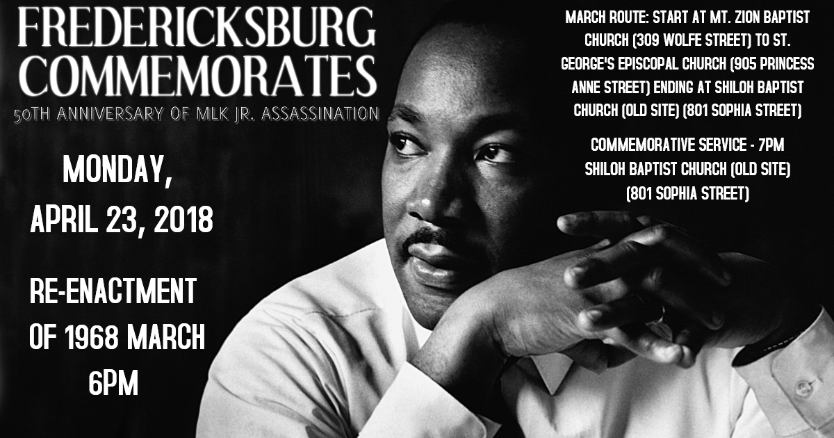 Commemorative March/Service for 50th Anniversary of MLK Jr. Assassination
