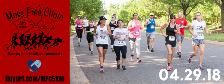 Registration Now Open for the Moss Free Clinic 5K