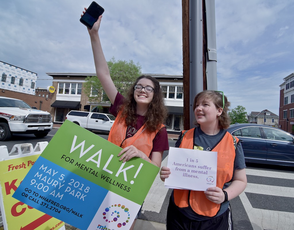Mental Health America of Fredericksburg walk