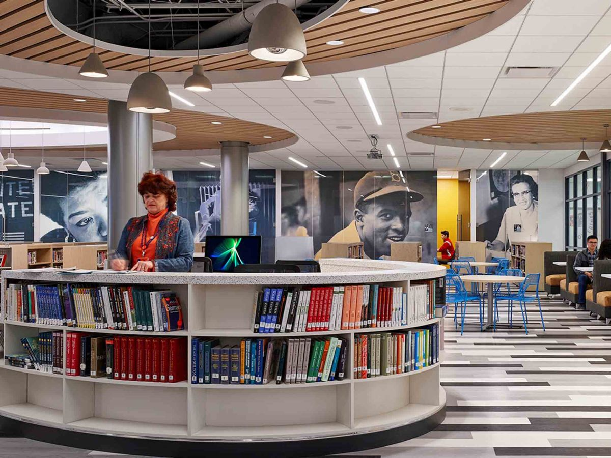 North Stafford High School Library Featured in Magazine