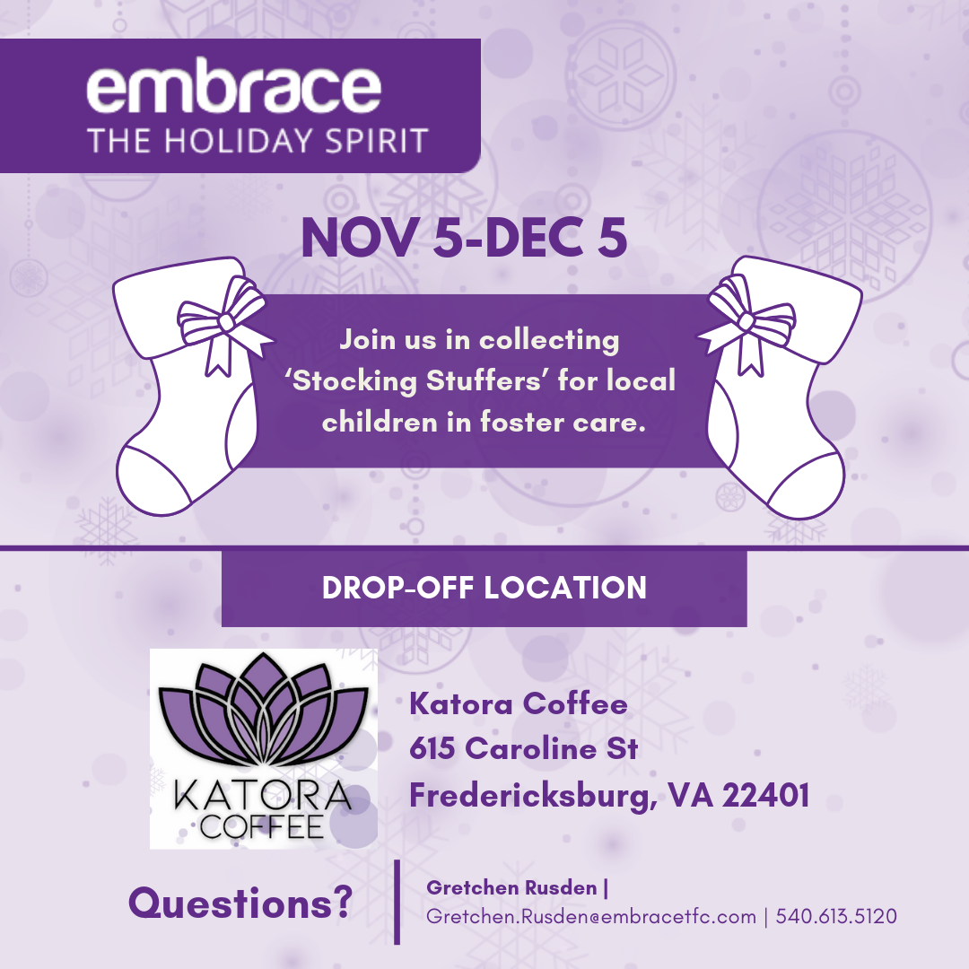 Stuff a Stocking for Kids in Foster Care