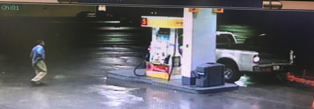 Surveillance footage screenshot