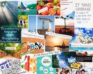 Vision Boards with the Fredericksburg Democratic Committee Women's Caucus
