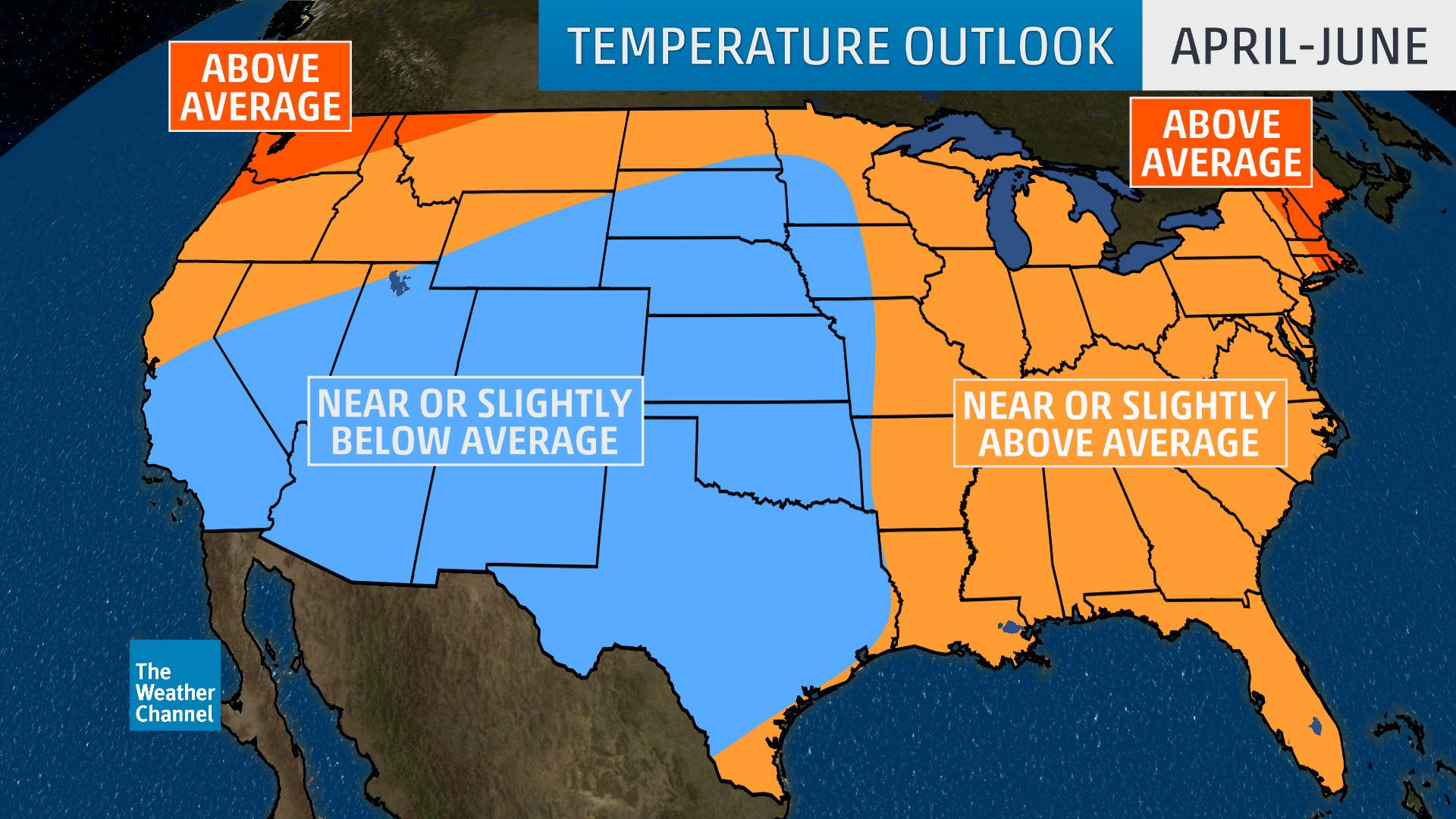 Warmer weather soon? The Weather Channel has a prediction