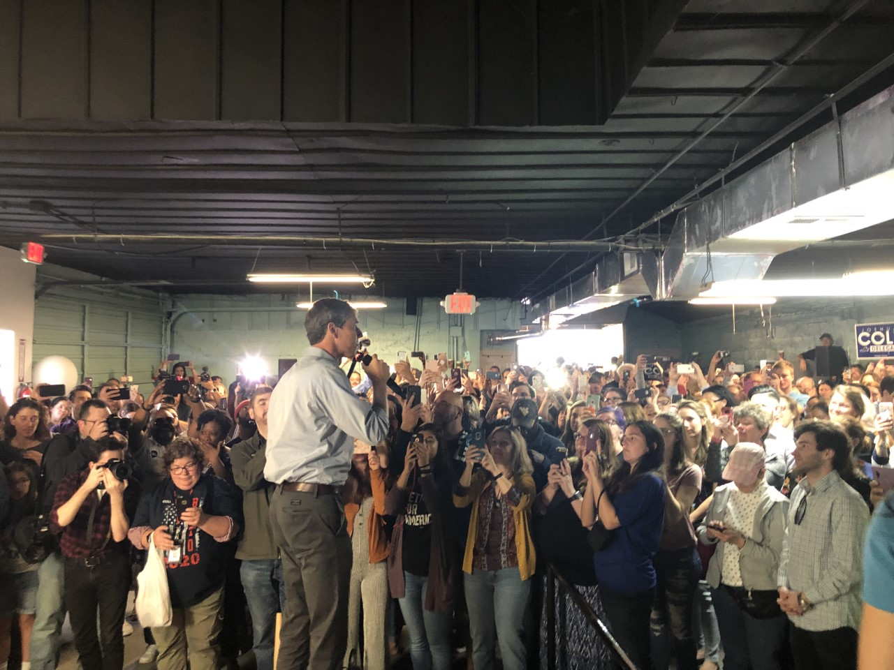 Beto in the 'Burg