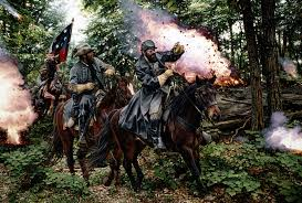 May 2, 1863.  Confederates suffer a major blow at Chancellorsville