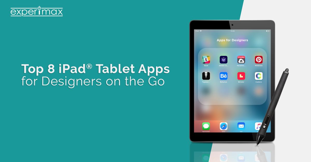 Top Eight iPad Tablet Apps for Designers on the Go