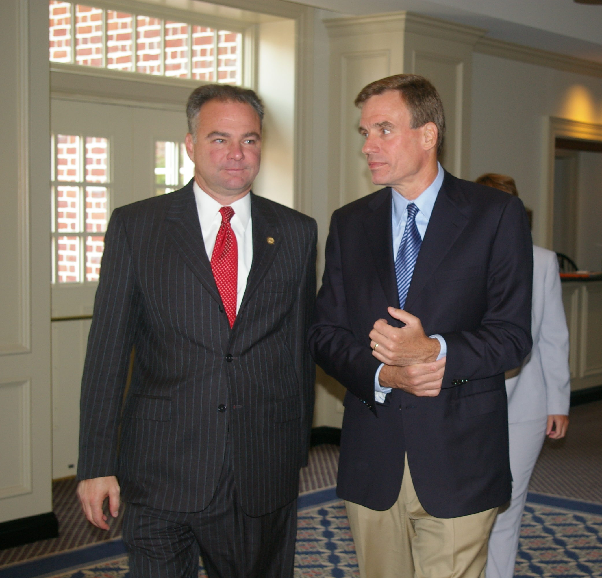 Senators Tim Kaine and Mark Warner