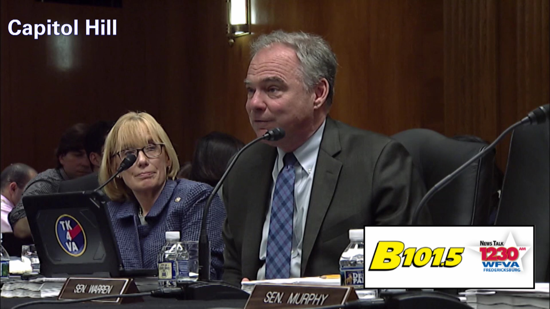 Senator Kaine's bill to raise the tobacco age to 21 wins committee approval