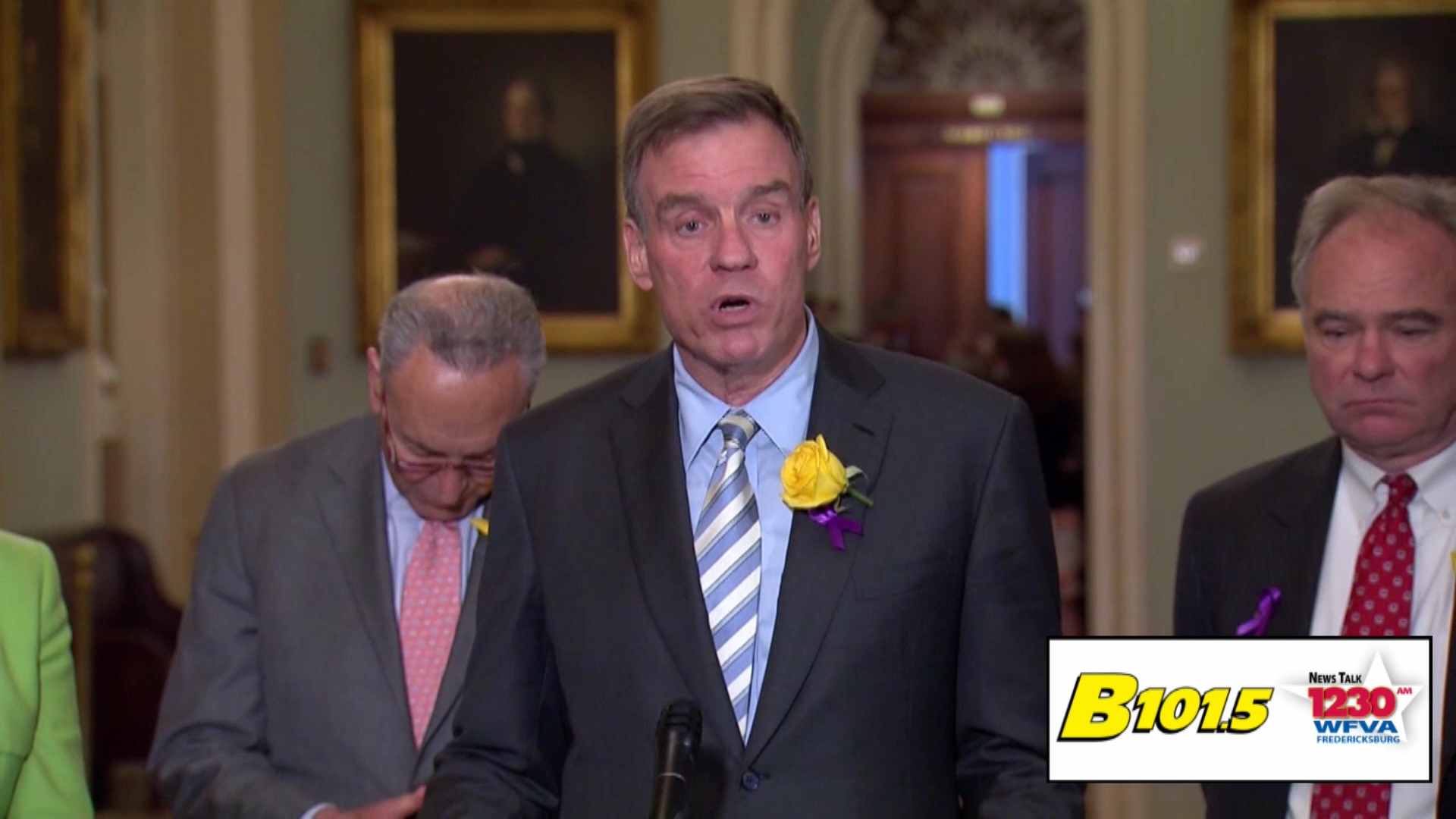 Warner and Kaine call on Congress to take steps to reduce gun violence