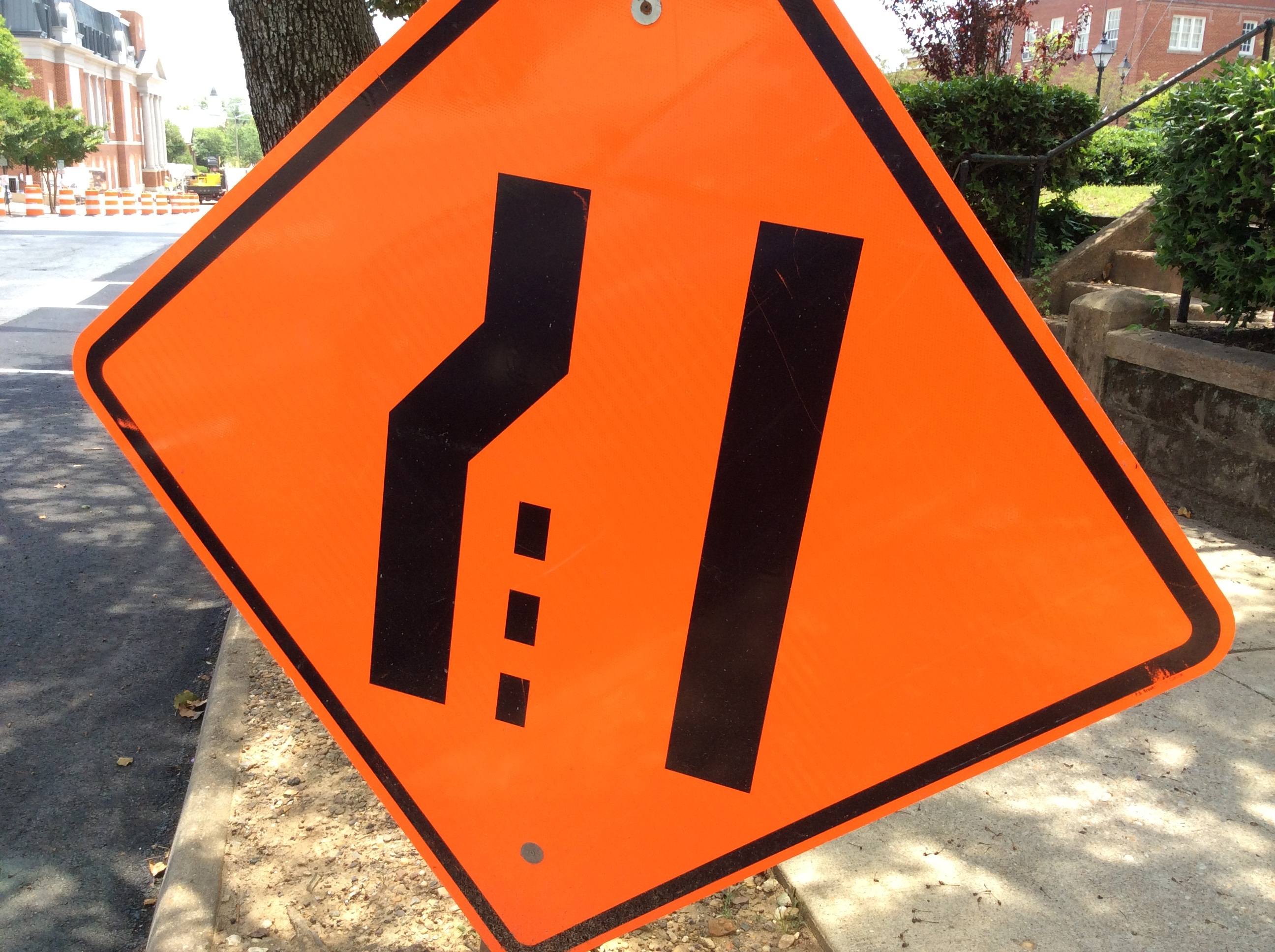 VDOT road work in the area this week