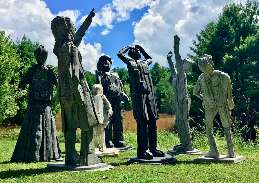 Free walking tour this month of Fredericksburg Public Sculpture Program