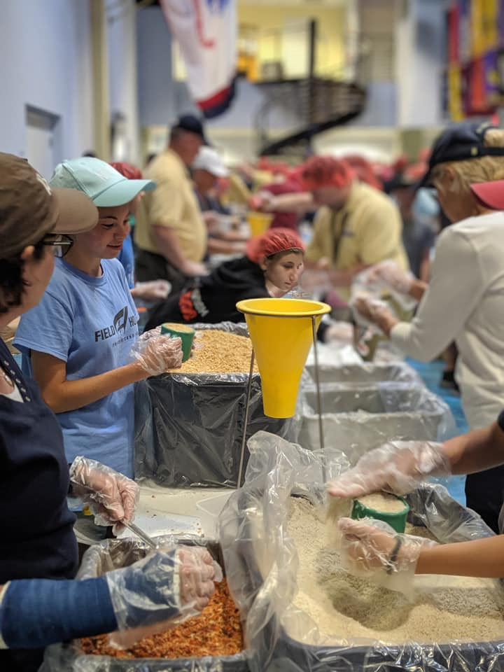 SimVentions packs 25,000+ meals for Rise Against Hunger