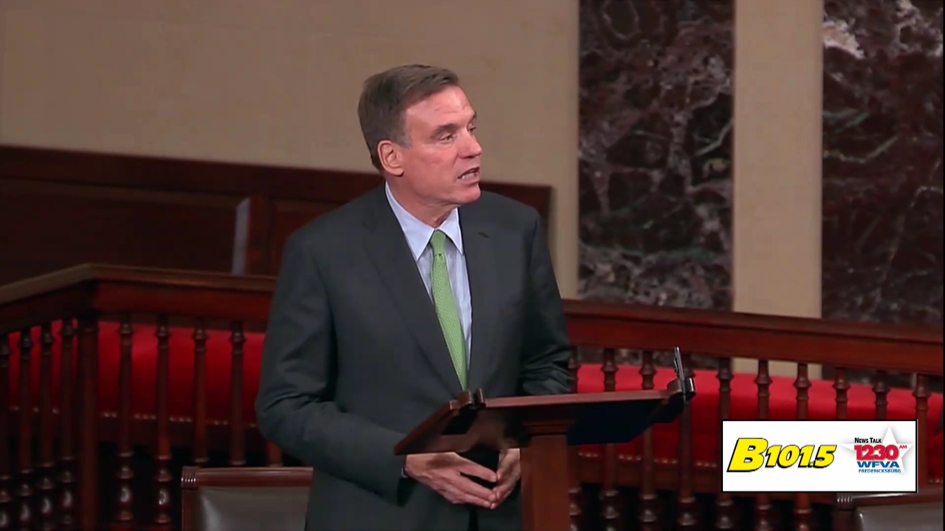 Warner fails in attempt to pass election security legislation on the Senate floor