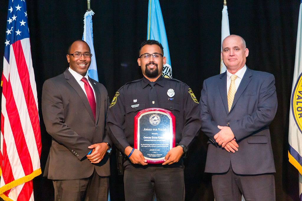 City Officer Cabrera honored with state award