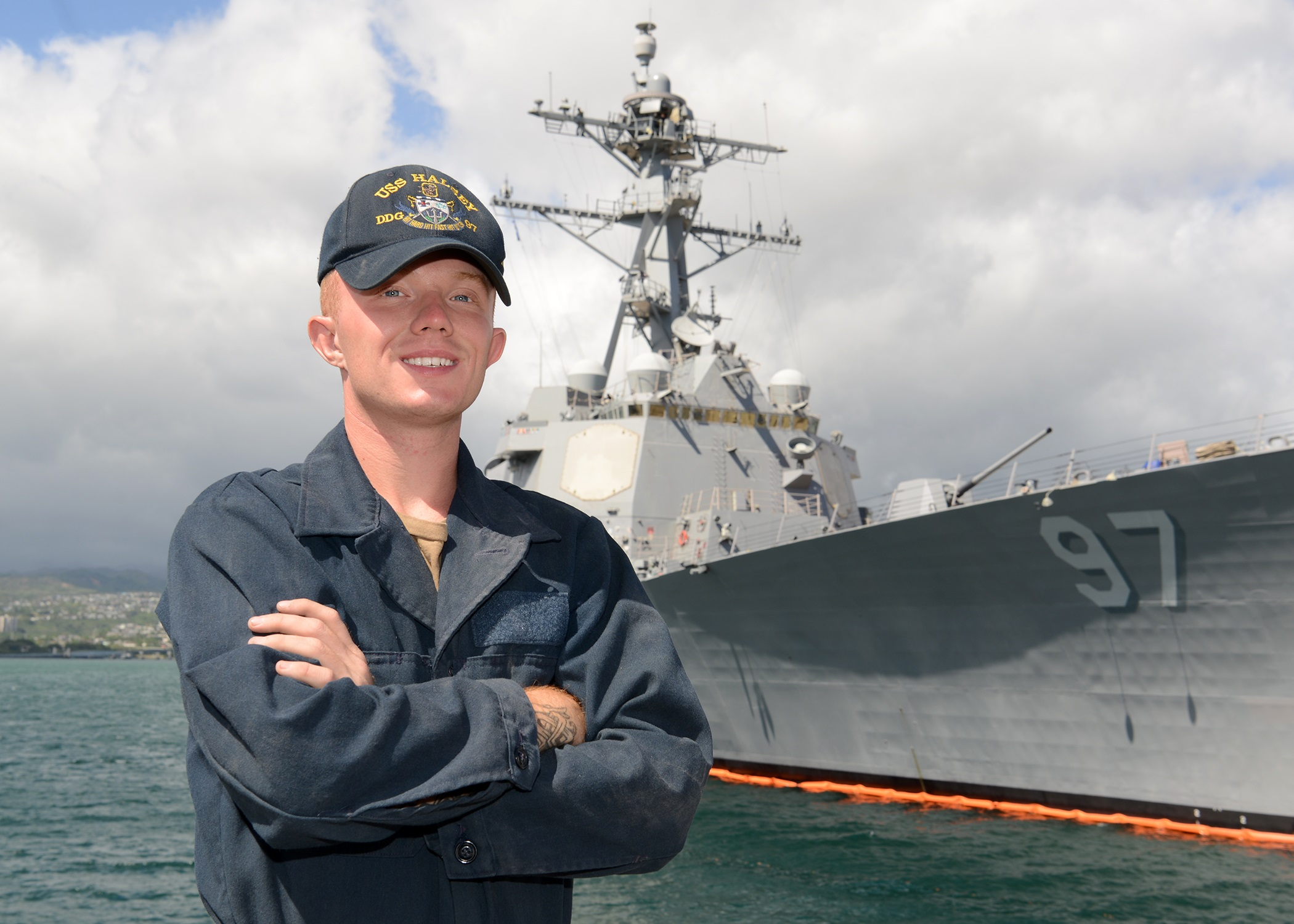 Stafford native serves aboard U-S Navy Guided-Missile Destroyer in Pearl Harbor