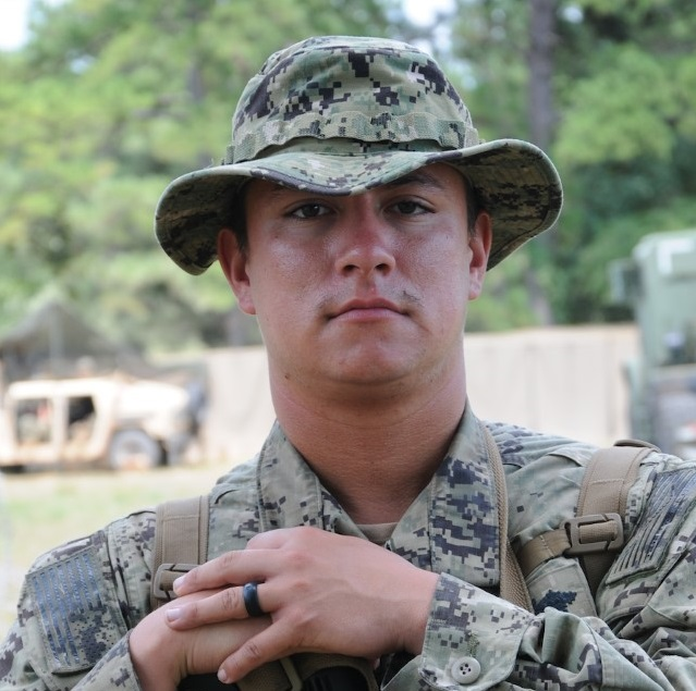 "Son of Fredericksburg residents matches ""We Build, We Fight"" legacy of U.S. Navy Seabees"