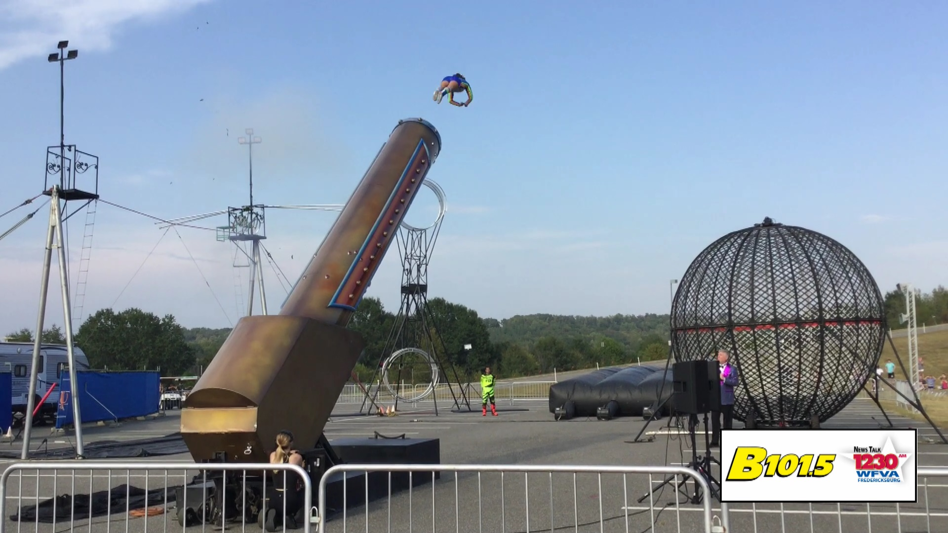 Thrills at the State Fair of Virginia