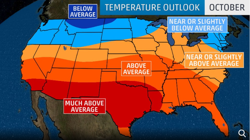 The Weather Channel:   Another hot and dry week ahead