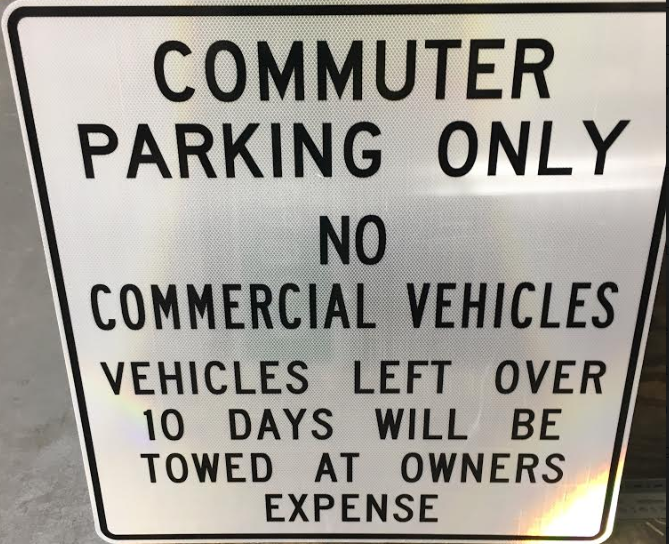 New signs coming to Park and Ride lots in the area