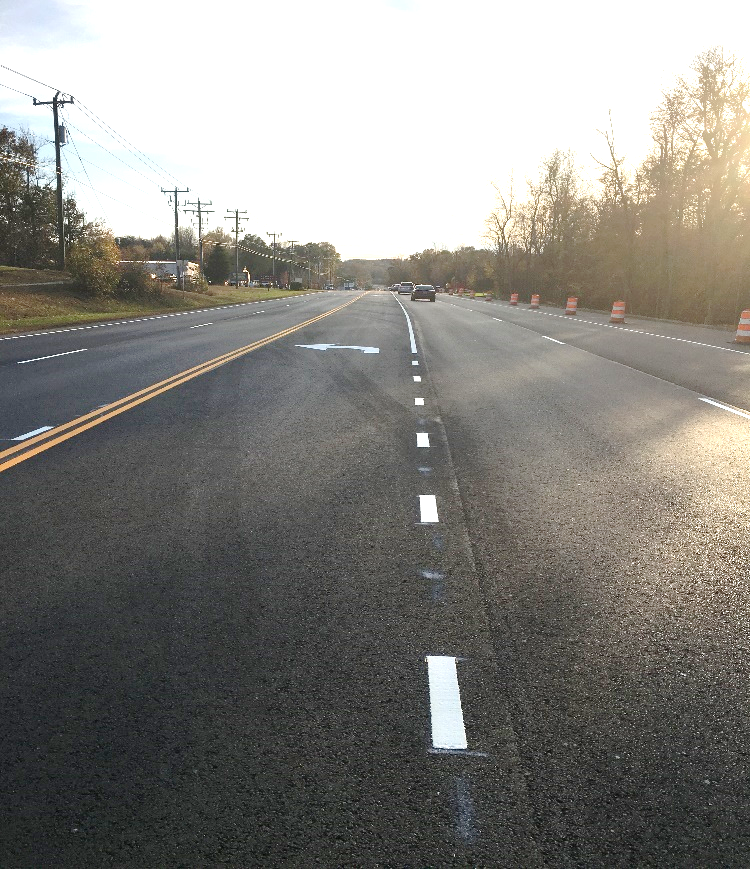 New turn lane opens on route 1 southbound in Stafford
