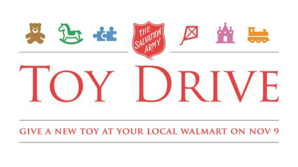 One day toy drive on Saturday