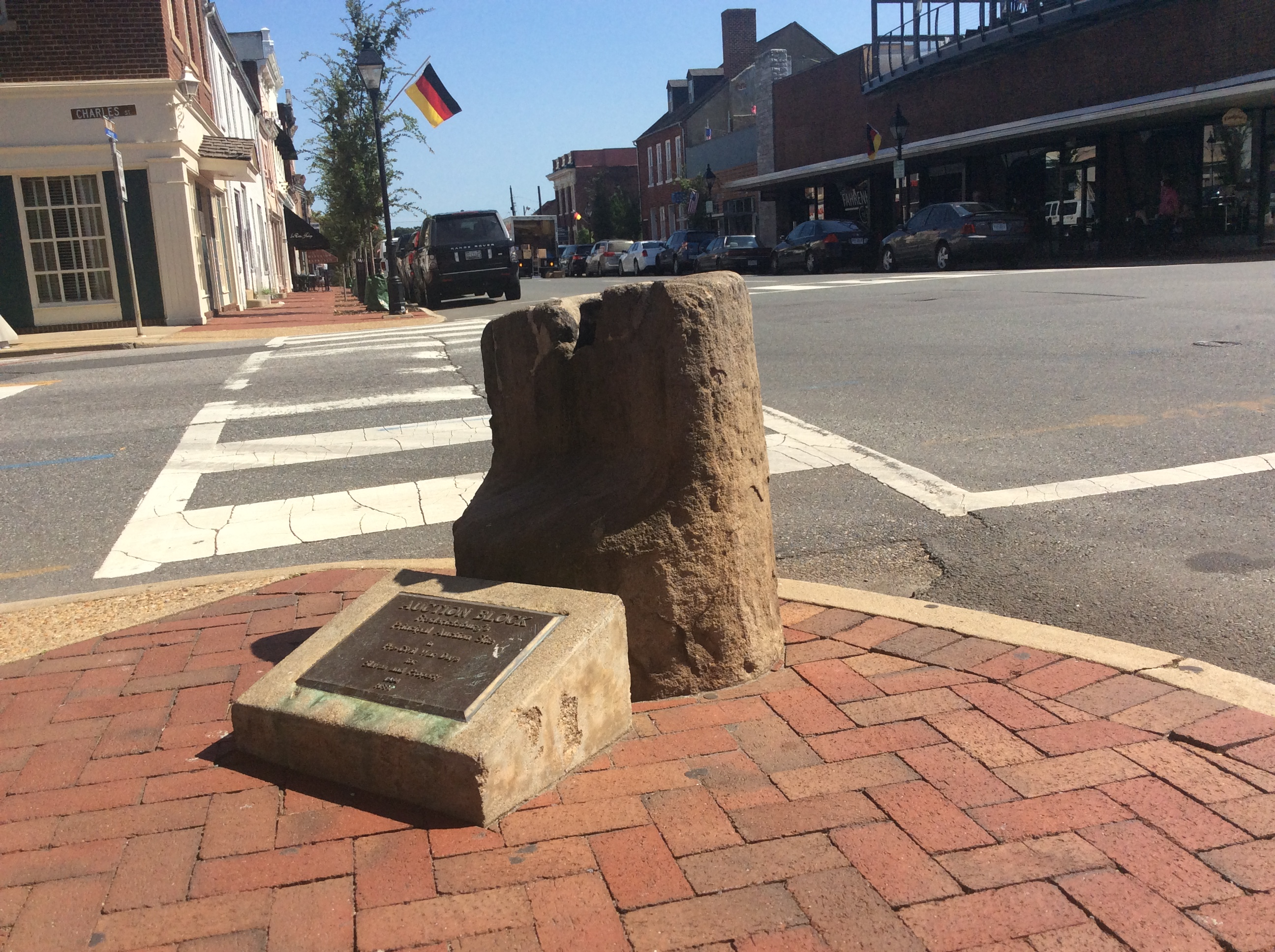 Appeal filed against moving the slave auction block in downtown Fredericksburg